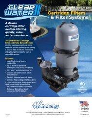 Cartridge Filters & Filter Systems Cartridge ... - Waterway Plastics