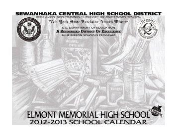 Elmont Memorial High School Calendar 2012-13 - Sewanhaka ...