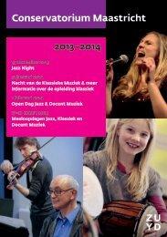 2013–2014 Conservatorium Maastricht