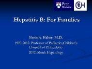 Download PowerPoint - Hepatitis B Foundation