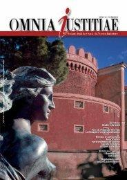 Anno VII - n. 3 in formato pdf - Consiglio dell'Ordine degli Avvocati ...