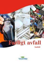 Farligt avfall - VafabMiljö