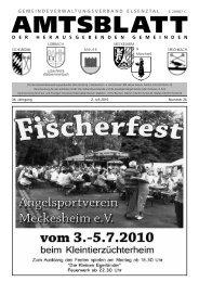 amtsblatt - Meckesheim