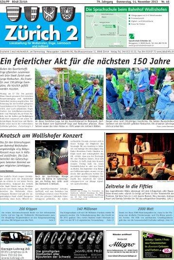Ein feierlicher Akt für die nächsten 150 Jahre - Lokalinfo AG