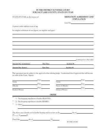 Mediation Agreement Template. Partnership Agreement 896 Best ...