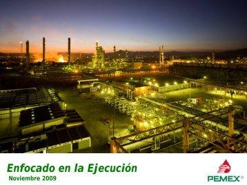 Enfocado en la Ejecución - Relación con inversionistas - PEMEX.com