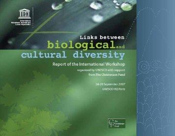 Links between biological and cultural diversity - unesdoc - Unesco