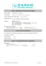 to download the MSDS on Tank Klenz Low Foam as a pdf.