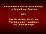 Teil 9 - Veterinärmedizinische Universität Wien