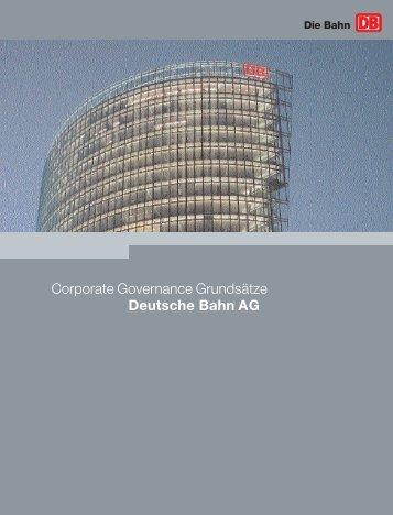 Corporate Governance Grundsätze Deutsche Bahn AG
