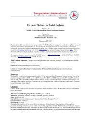 Pavement Markings on Asphalt Surfaces - WisDOT Research
