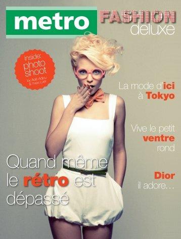 Vive le petit ventre rond La mode d'ici à Tokyo Dior il adore ... - Metro