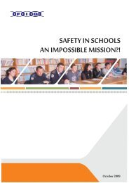 SAFETY IN SCHOOLS AN IMPOSSIBLE MISSION?!