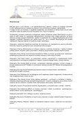 Sprawozdanie z działalności Fundacji za rok 2007 - Wyszukiwanie ... - Page 7