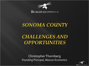 Thornberg PowerPoint Presentation - Sonoma County