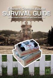 Eminent Domain Abuse Survival Guide - The Castle Coalition