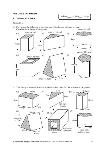 area volume examples. Black Bedroom Furniture Sets. Home Design Ideas