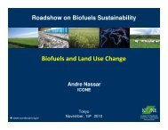 Biofuels and Land Use Change