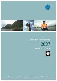 Lokal energiutredning Vefsn kommune - Helgelandskraft