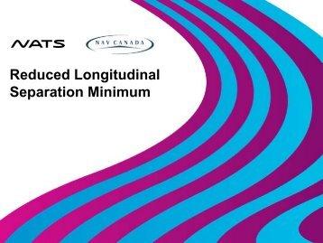 Reduced Longitudinal Separation Minima