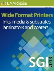 Inks, media & substrates, laminators and coaters - large-format ...