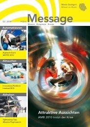 Message Ausgabe 2/2010 - Messe Stuttgart