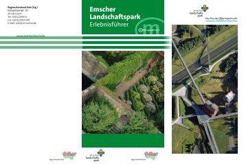 Erlebnisführer Emscher Landschaftspark - Metropole Ruhr