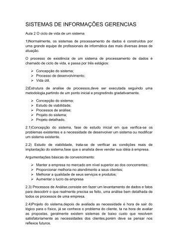 Aula_2_Sig - Professor Jose Alves