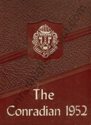 1952 Conradian Yearbook - Henry C. Conrad High School