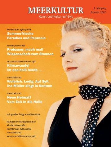 Meerkultur 2007 (PDF) - Meerkabarett