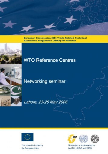 Networking seminar WTO Reference Centres - TRTA i