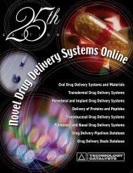 Oral Drug Delivery Systems and Materials Transdermal Drug ...