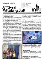 Einweihung des neuen Trinkwasserbrunnens FC ... - Stadt Merkendorf