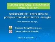 Gospodarstvo i energetika na primjeru obnovljivih izvora energije ...