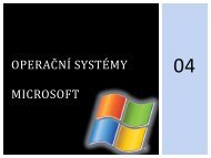 Operační systém - eAMOS