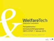 Henrik Kagenow, Welfare Tech