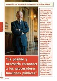 Entrevista - Consejo General de Procuradores de España