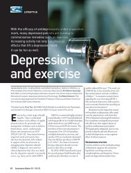Depression and exercise - Informit