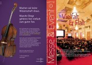 Innovative Werte - bei Messe & Event