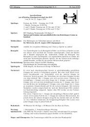 49. Jahrgang Verbandsmitteilungsblatt Nr. 6 04. Juni 2010