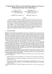 A System for Discovering Relationships by Feature Extraction from ...