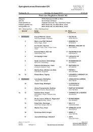 Preis der Flughafen Zürich AG - KV-Limmattal