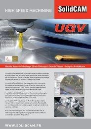 Brochure du module 3D/UGV - SolidCAM