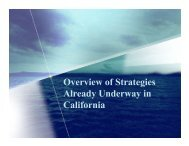 Overview of Strategies Already Underway, Deputy Secretary Anne ...