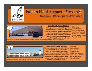 Falcon Field Airport - Mesa AZ - City of Mesa