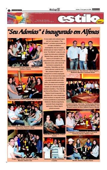 Caderno L 15 de AGOSTO 2009.p65 - Jornal dos Lagos