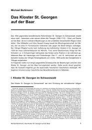 Das Kloster St. Georgen auf der Baar - michael-buhlmann.de