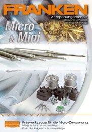 FRANKEN Micro-Mini-Prospekt.indd - Riwag Präzisionswerkzeuge AG