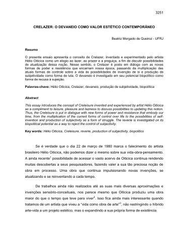Beatriz Morgado Queiroz - anpap