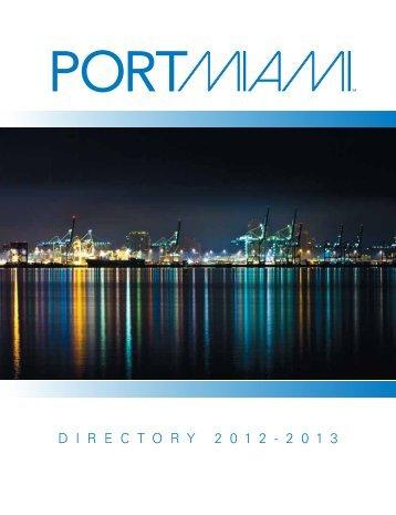 our HOME… The Port of Miami - Miami-Dade Portal
